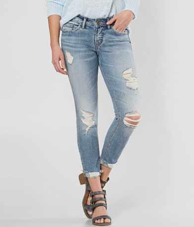 Silver Suki Skinny Stretch Cropped Jean