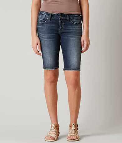 Silver Elyse Bermuda Short