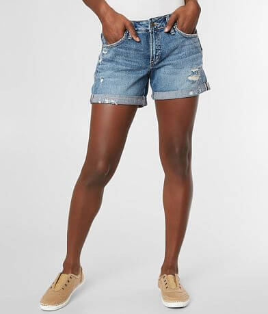 30d5b028710 Silver Boyfriend Cuffed Short Favorite Product. Silver Jeans Co.
