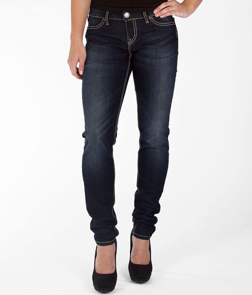 Silver Suki Stretch Jegging front view