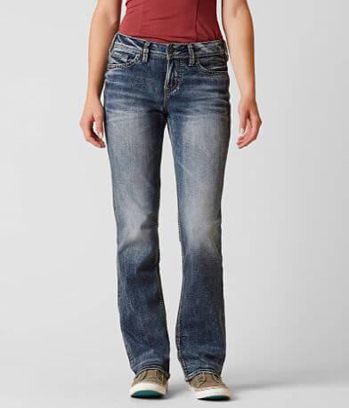 Silver Suki Slim Boot Stretch Jean