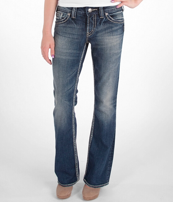 Silver Suki Surplus Boot Stretch Jean - Women's Jeans in SJB 241 ...