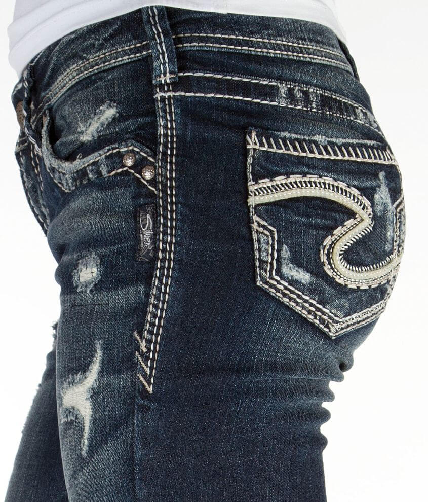 639d245a Silver Aiko Baby Boot Stretch Jean - Women's Jeans in SJB354 | Buckle
