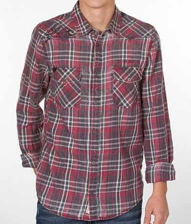 Silver Plaid Shirt