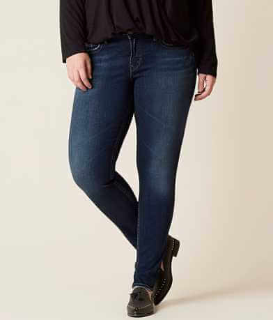 Silver Suki Skinny Stretch Jean - Plus Size Only