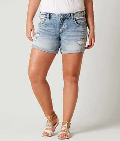 Silver Sam Boyfriend Short - Plus Size Only