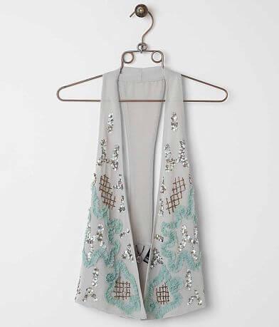 BKE Boutique Embellished Vest