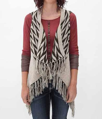 Daytrip Open Weave Sweater Vest