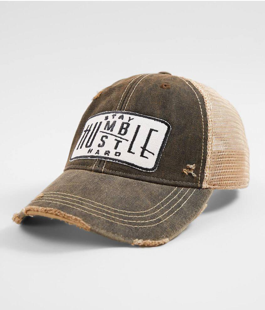 b541a9c5 Wild Oates Stay Humble Hustle Hard Baseball Hat - Women's Hats in ...