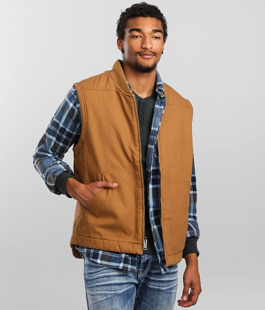 Dickies® Sherpa Duck Vest front view