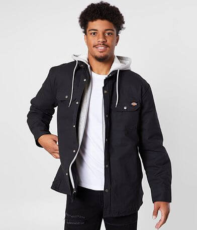 Dickies® Hooded Duck Shirt Jacket