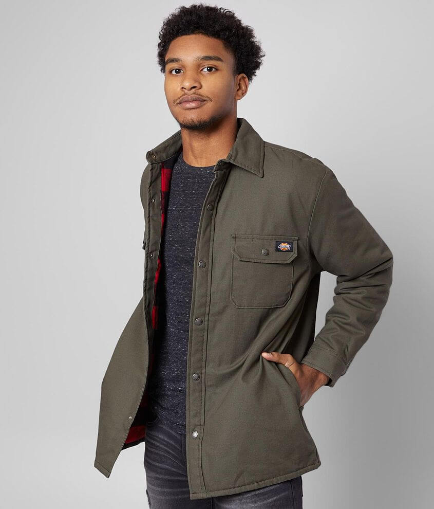 Dickies® Duck Shirt Jacket front view