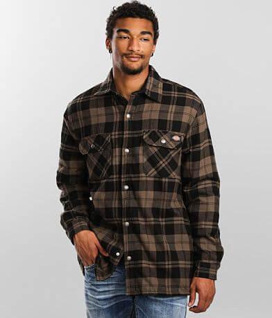 Dickies® Flannel Plaid Shacket
