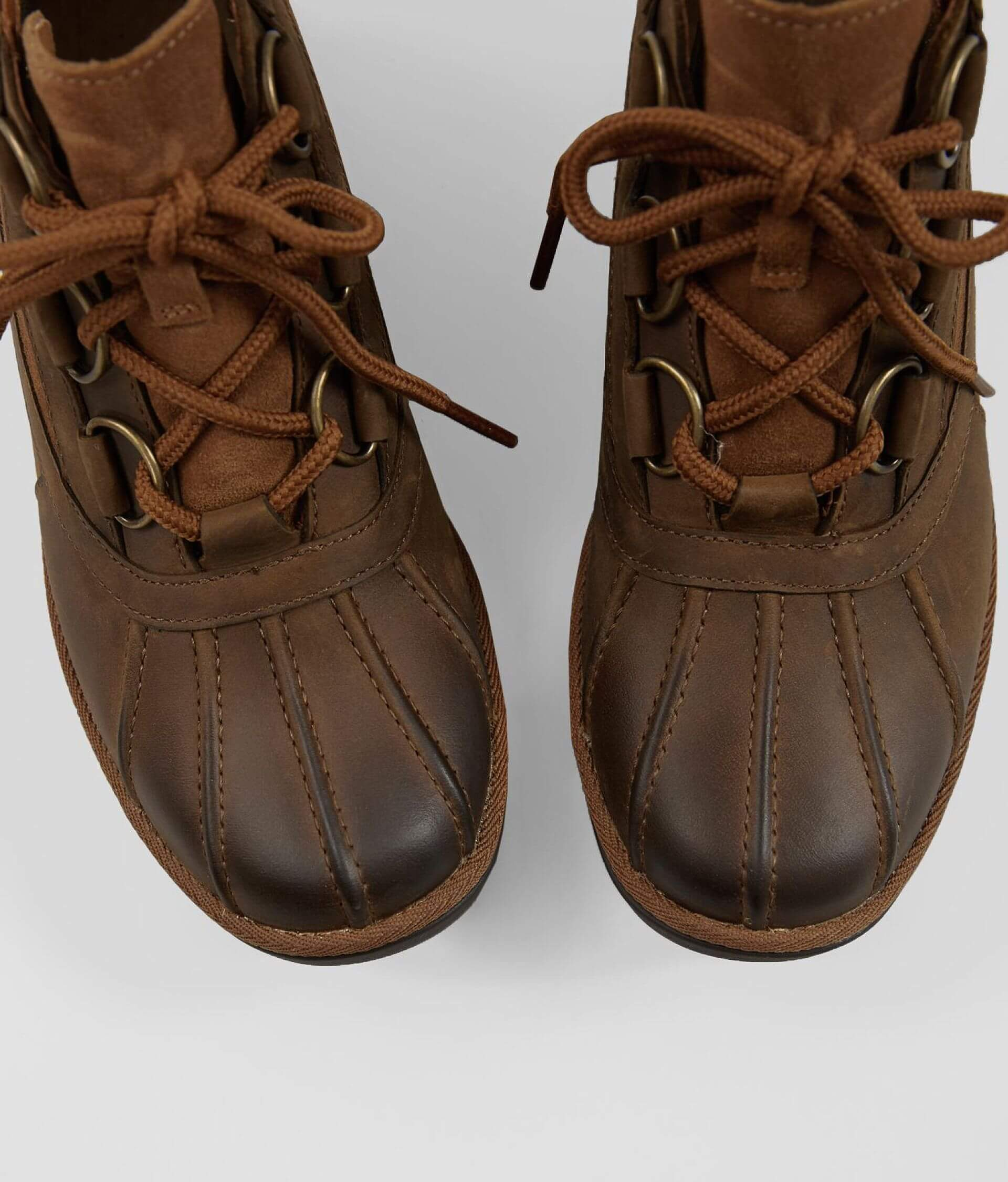 d09052bca86 UGG® Heather Waterproof Leather Boot - Women's Shoes in Chestnut ...