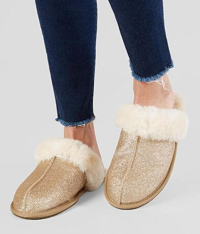 UGG® Scufette II Leather Sparkle Slipper