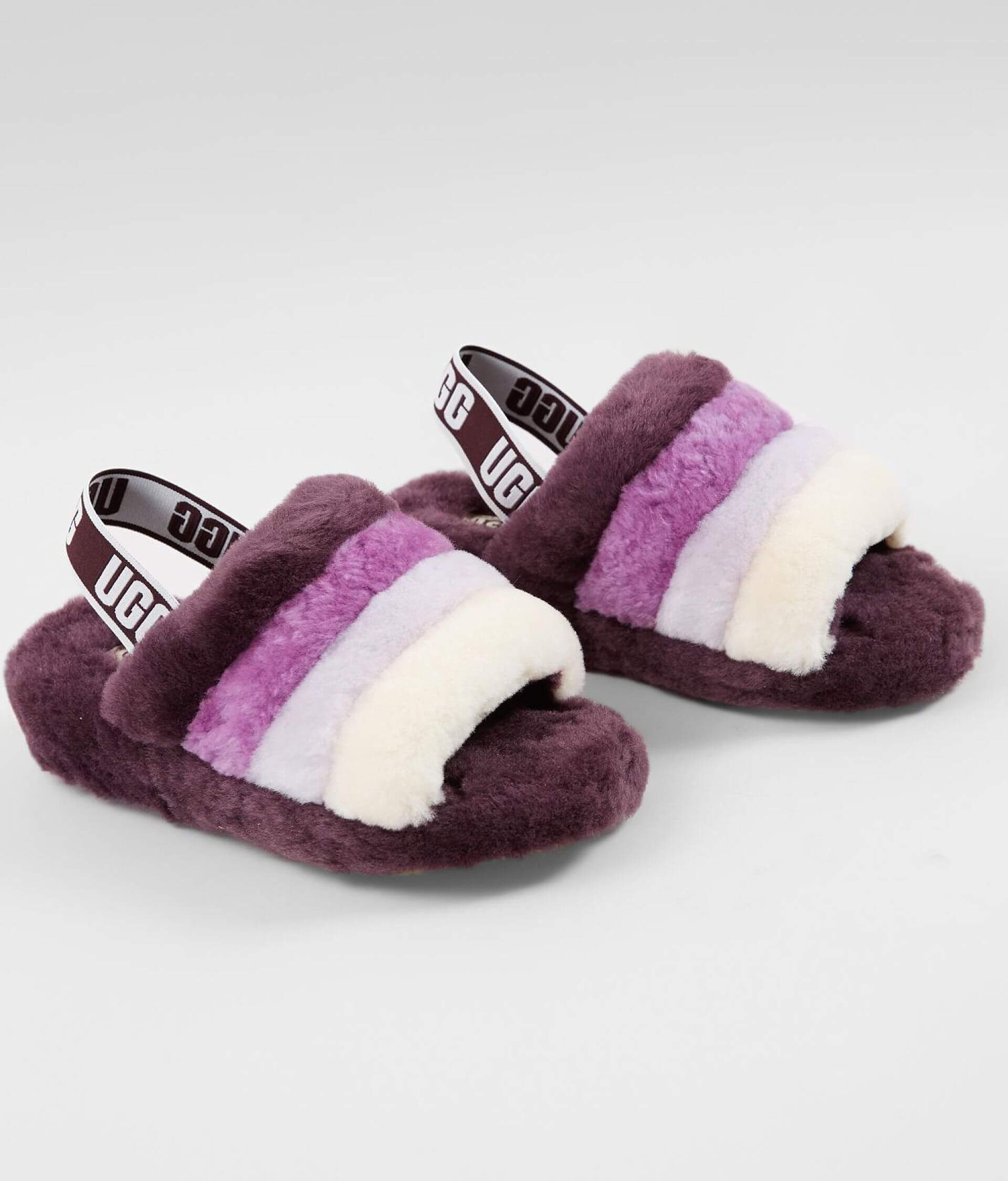 00d18845384 UGG® Fluff Yeah Slide - Women's Shoes in Port Multi | Buckle