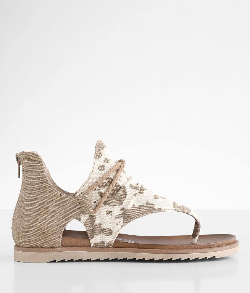 Very G Angelika Cow Print Sandal front view