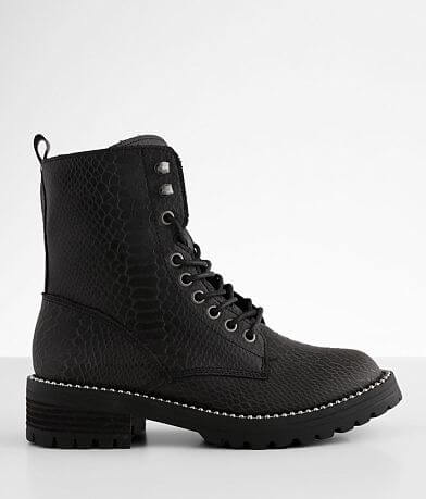 Very G Conquest Tonal Snake Combat Boot