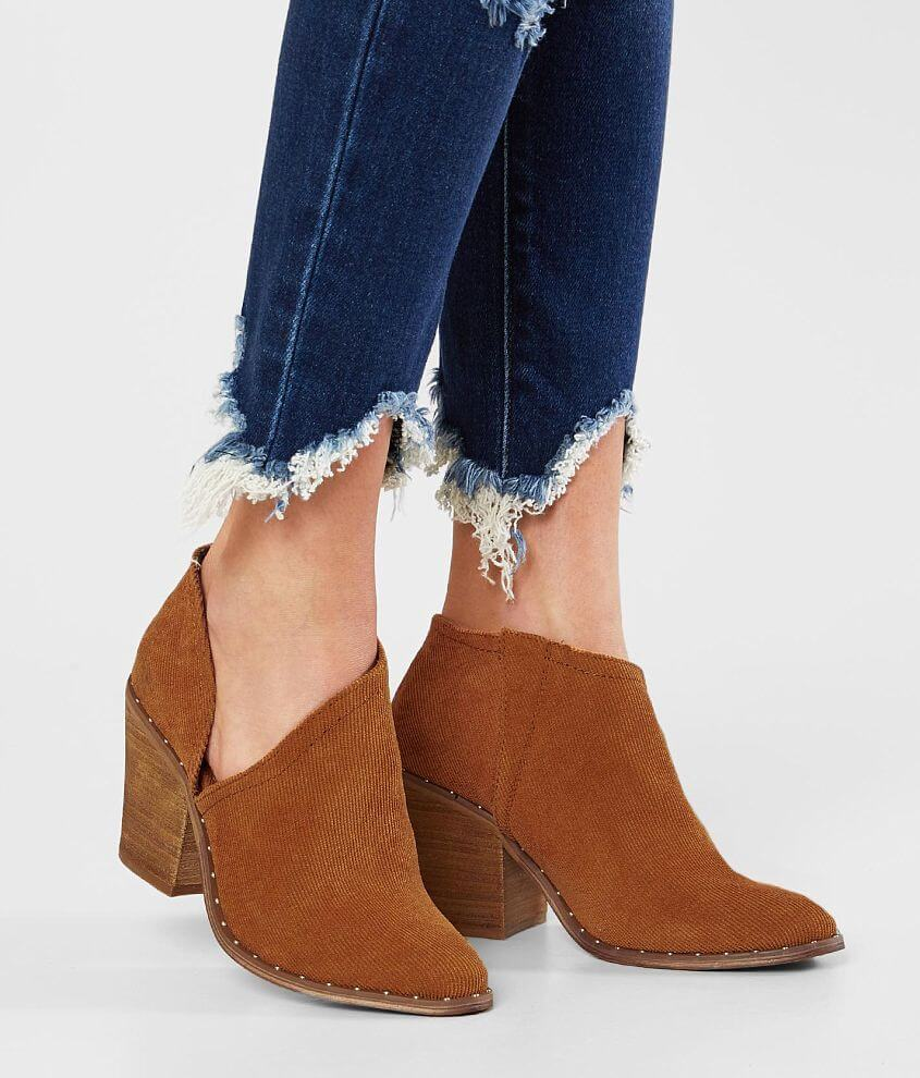 Very G Lilly Corduroy Ankle Boot front view