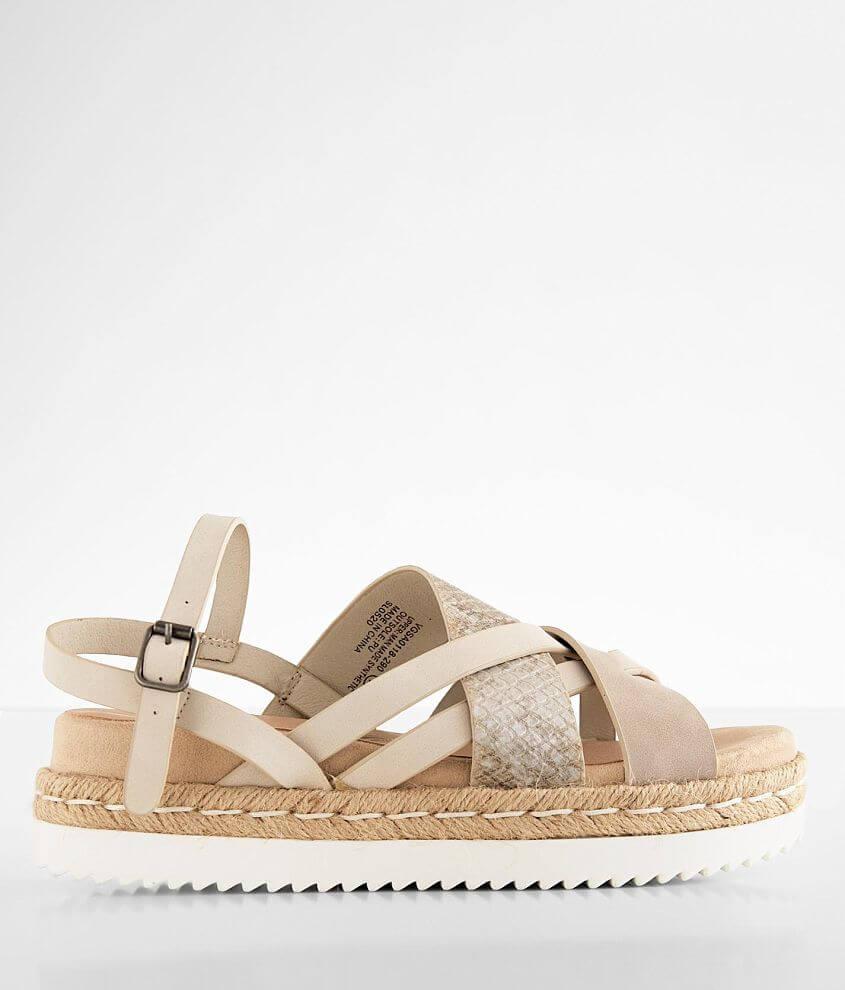 Very G Pamela Flatform Sandal front view