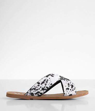 Very G Seaside Cow Print Sandal