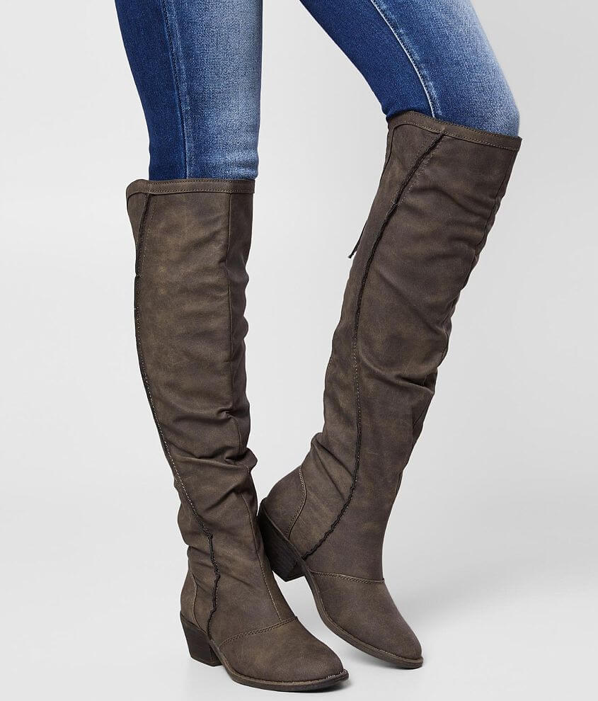 Very G Southern Joy Heeled Knee High Boot front view