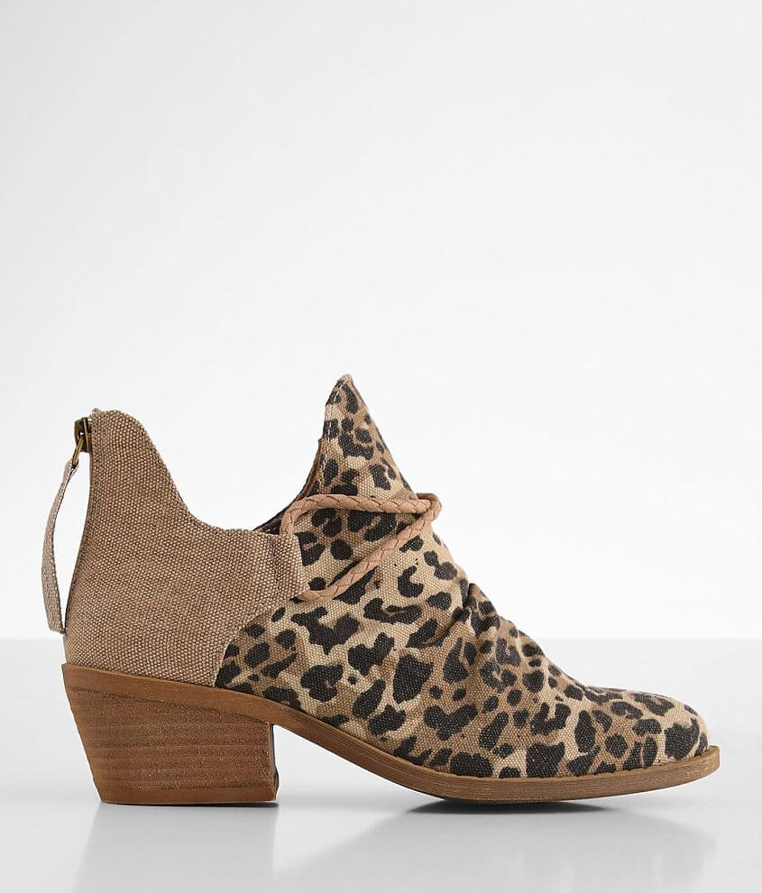 Very G Spartan Leopard Print Ankle Boot front view