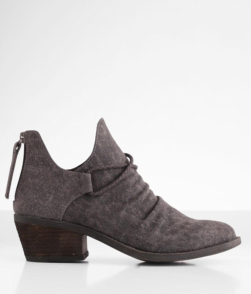 Very G Spartan Canvas Ankle Boot front view