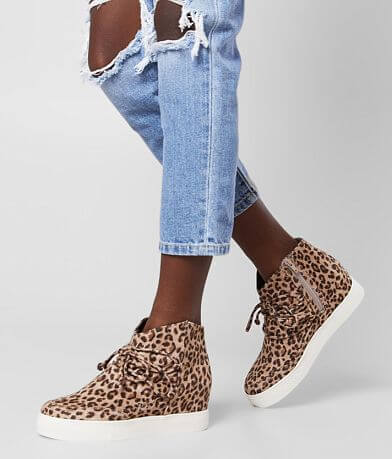 Very G Leopard Wedge Shoe