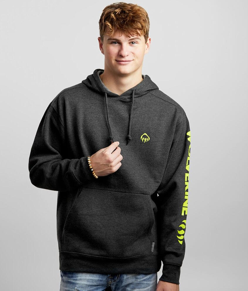 Wolverine Claw Hooded Sweatshirt front view
