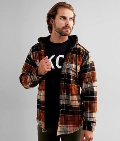 Wolverine Bucksaw Flannel Hooded Shacket