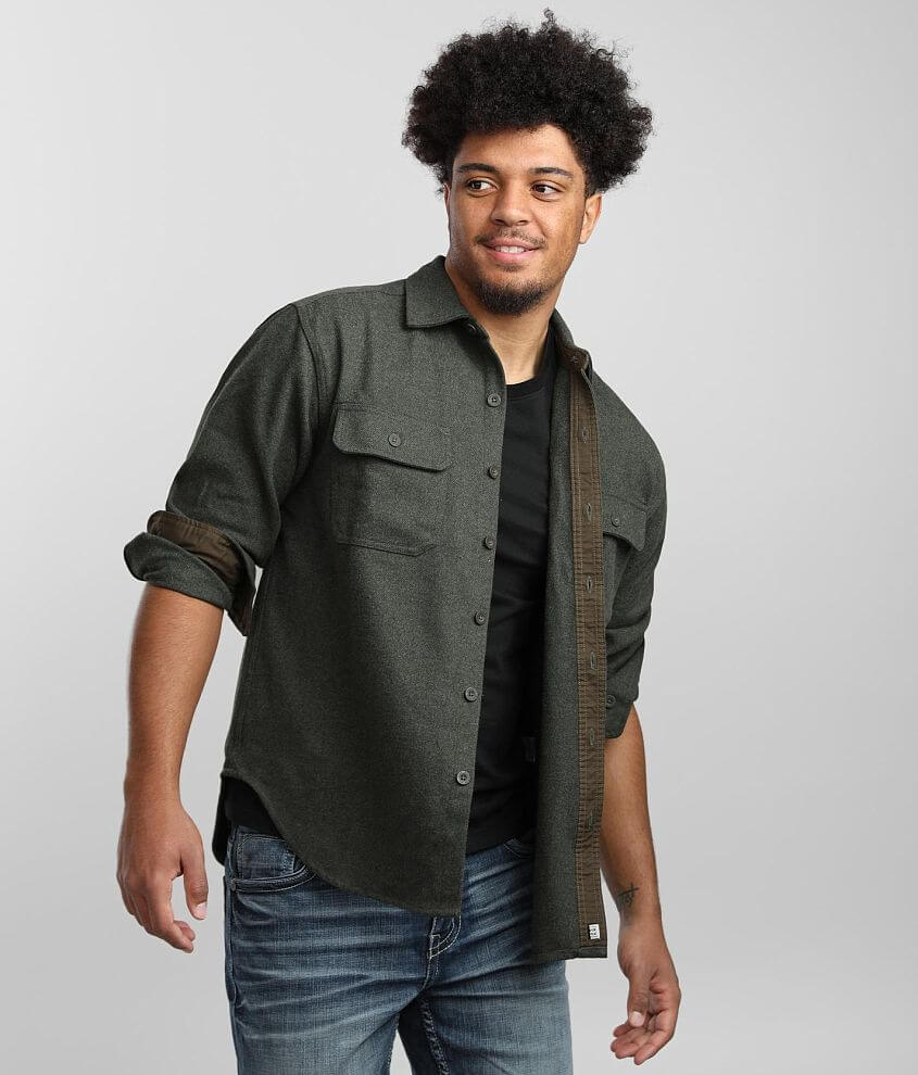 Wolverine Claw Twill Flannel Shirt front view