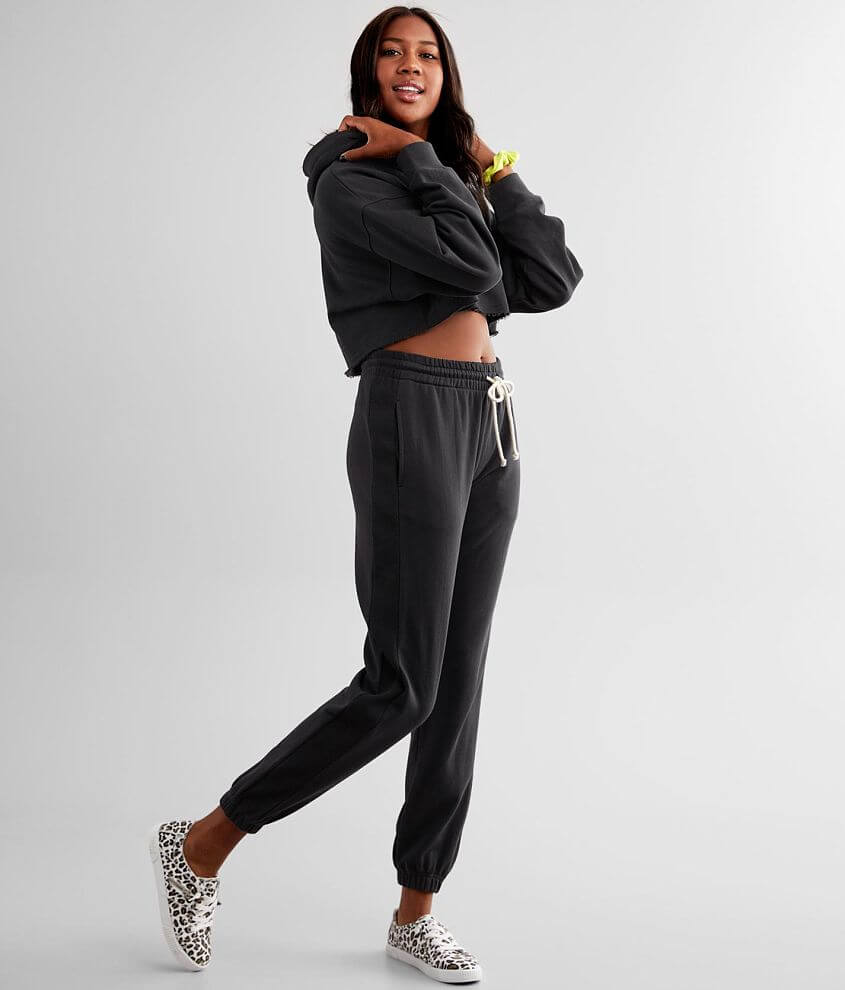 NIA Warm Up Knit Jogger Sweatpant front view
