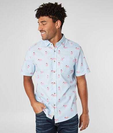 VSTR Flamingo Santa Hat Shirt
