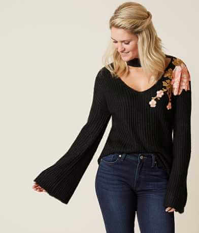 jella c. Floral Sweater