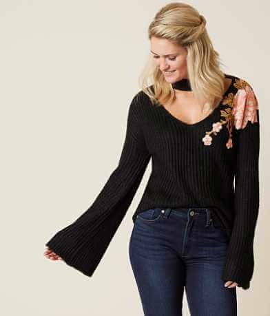 jella c. Floral Sweater