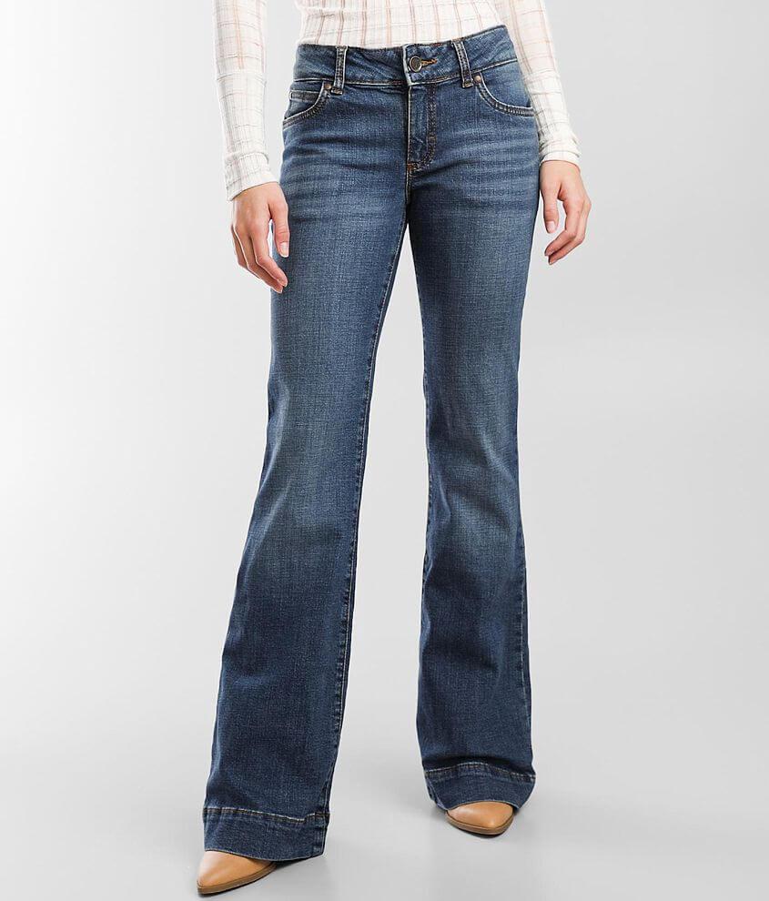 Wrangler® Retro Trouser Stretch Jean front view
