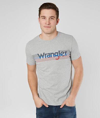 Wrangler® Striped Logo T-Shirt