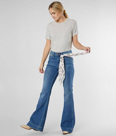 Wrangler® High Rise Flare Stretch Jean