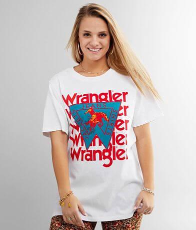 Wrangler® Batwing Logo Oversized T-Shirt