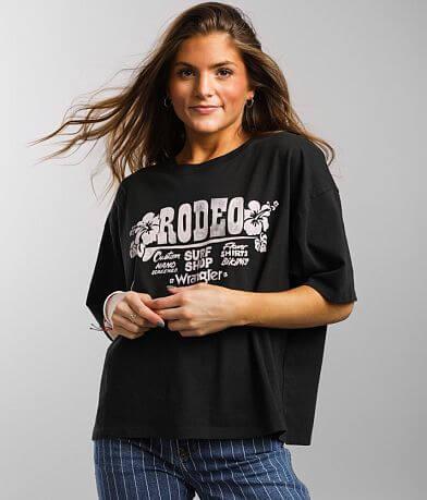Wrangler® Oversized Tropical Rodeo T-Shirt