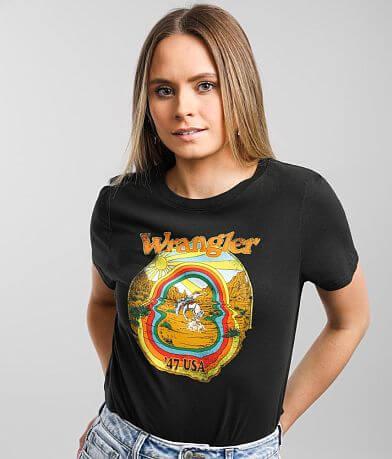 Wrangler® High Rib Rainbow T-Shirt