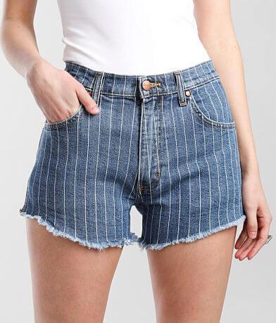 Wrangler® Reworked Cut-Off Denim Short