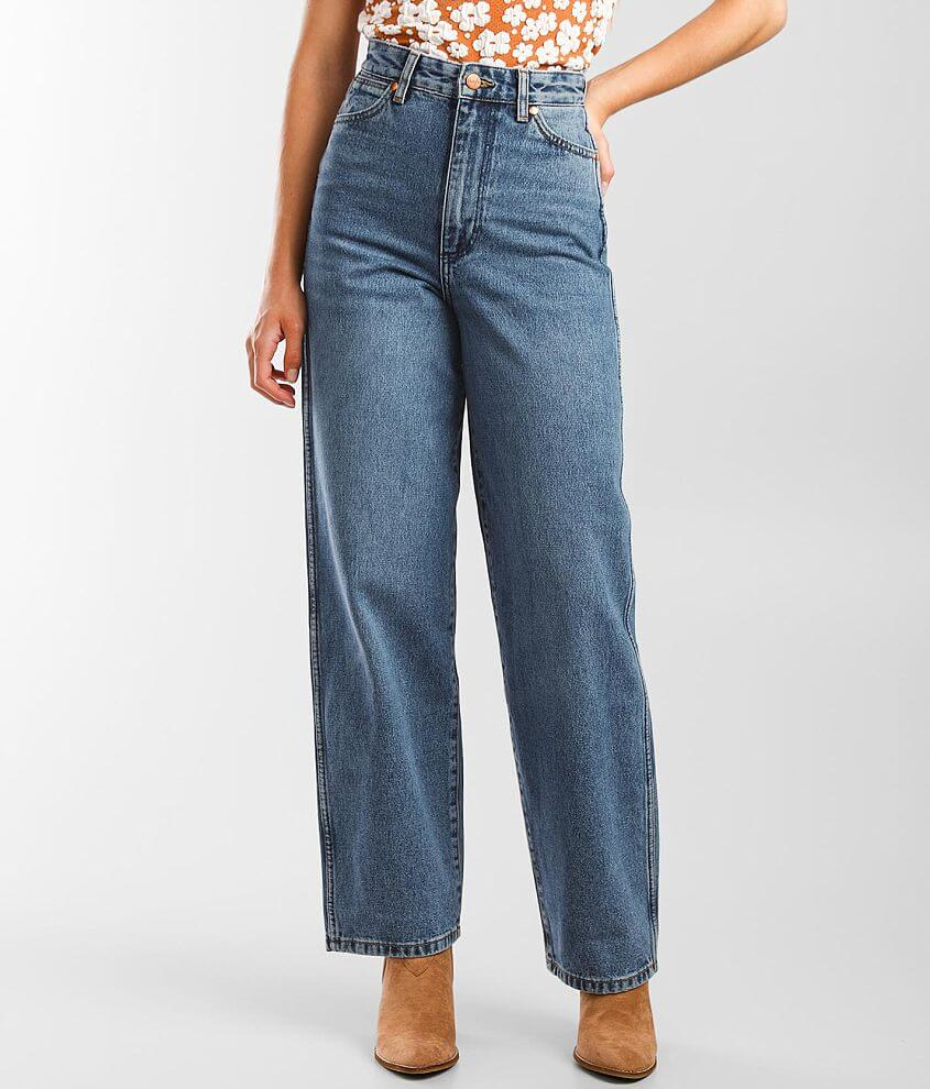 Wrangler® High Rise Barrel 652 Jean front view