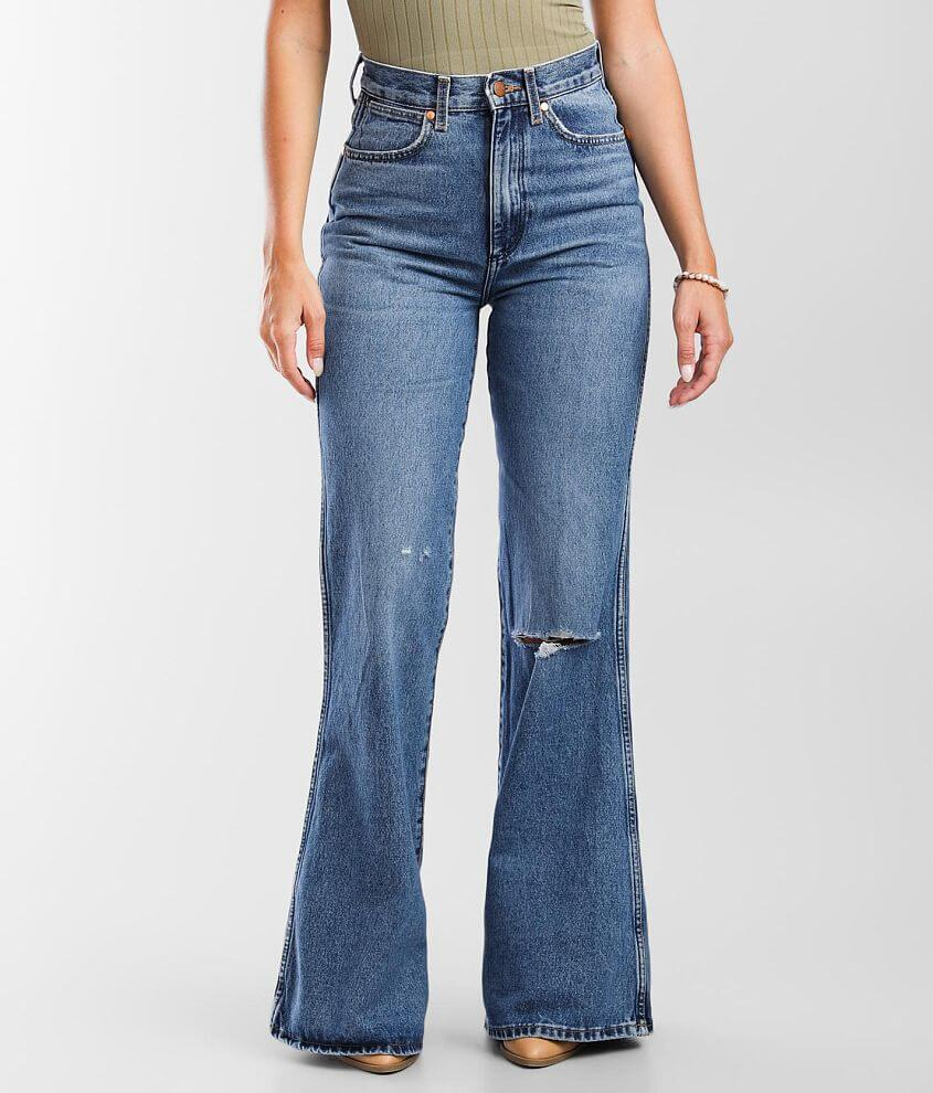 Wrangler® Wanderer High Rise Flare Jean front view