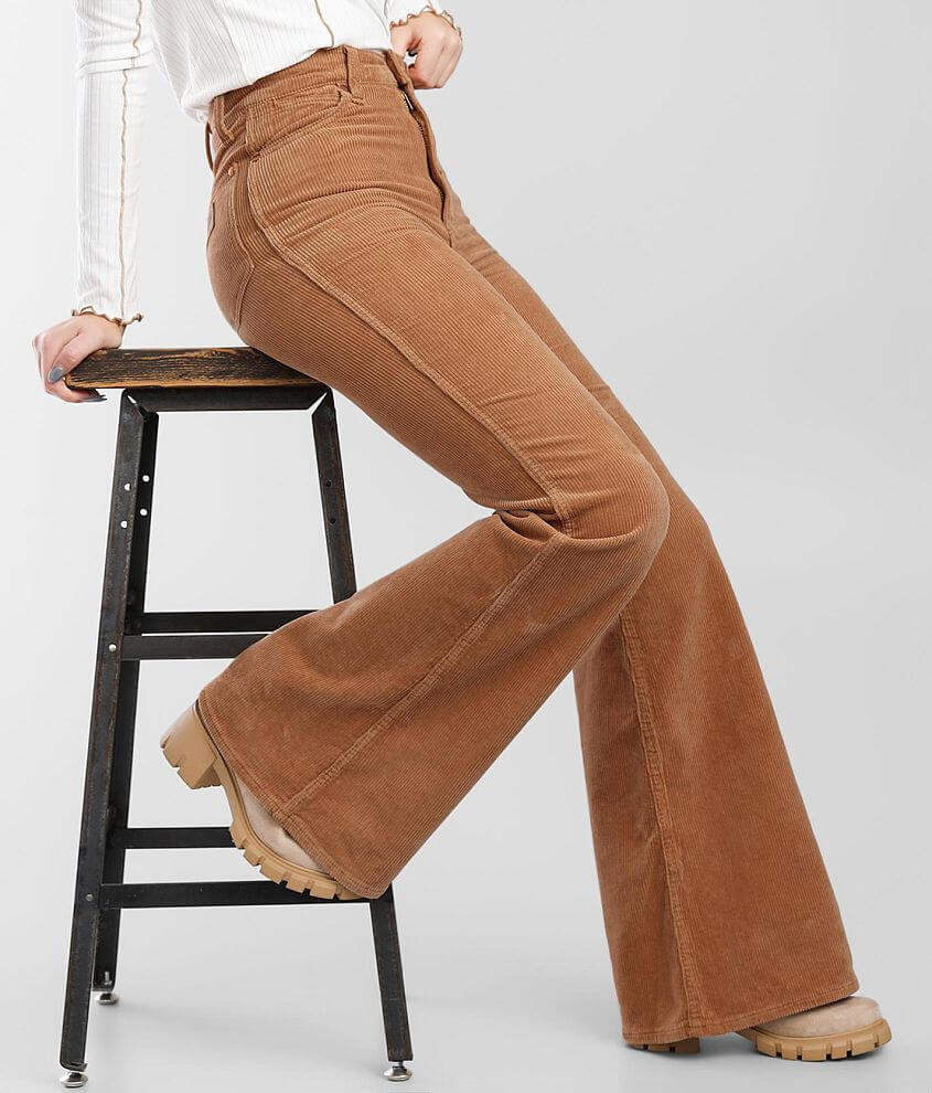 Wrangler® Wanderer High Rise Flare Pant front view