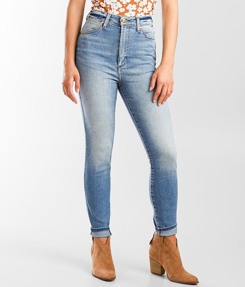 Wrangler® High Rise Skinny Stretch Jean front view