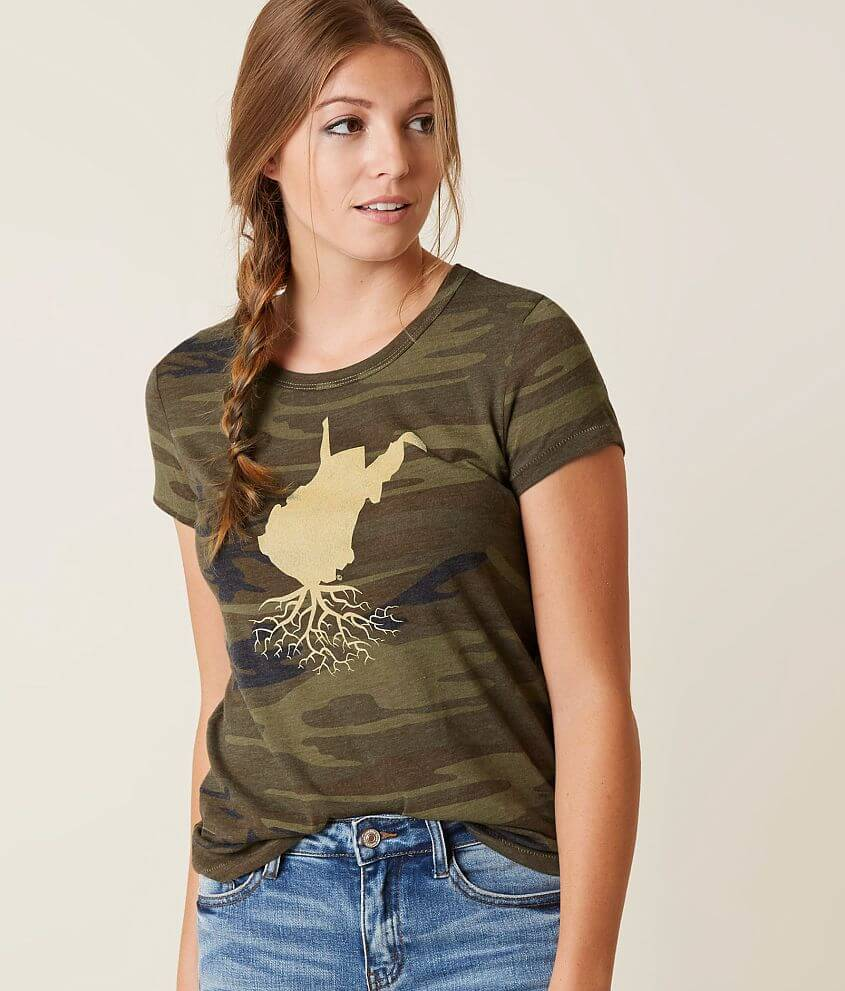 c24449c4 WYR West Virginia Roots T-Shirt - Women's T-Shirts in Camo | Buckle