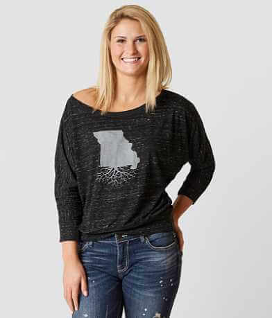 WYR Missouri Roots Off The Shoulder Top