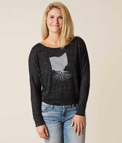 WYR Ohio Roots Off The Shoulder Top